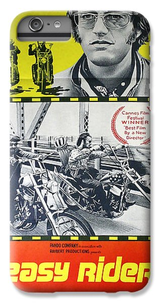 Easy Rider Movie Lobby Poster  1969 IPhone 6 Plus Case by Daniel Hagerman