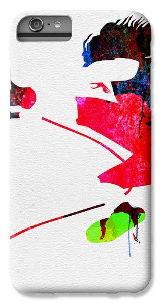 Eddie Watercolor IPhone 6 Plus Case by Naxart Studio