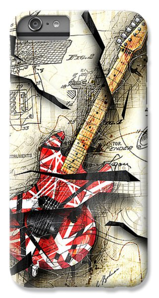 Eddie's Guitar IPhone 6 Plus Case by Gary Bodnar