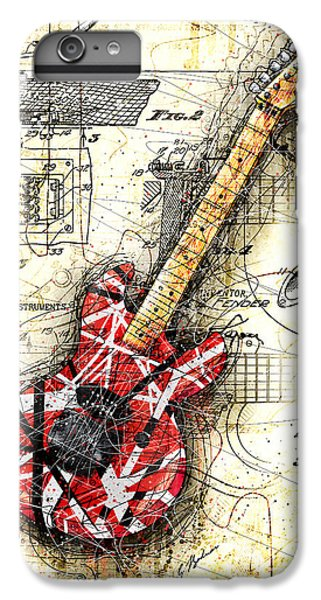 Eddie's Guitar II IPhone 6 Plus Case by Gary Bodnar