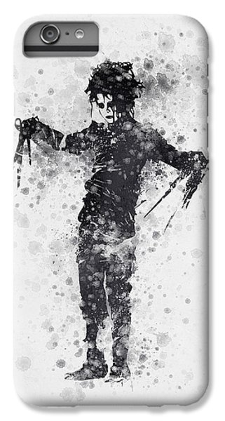 Edward Scissorhands 01 IPhone 6 Plus Case by Aged Pixel