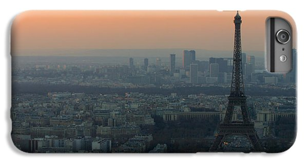 Eiffel Tower At Dusk IPhone 6 Plus Case by Sebastian Musial