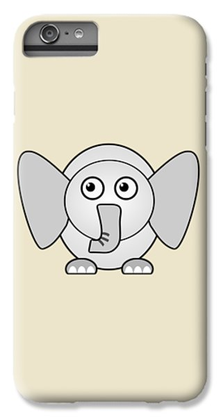 Elephant - Animals - Art For Kids IPhone 6 Plus Case by Anastasiya Malakhova