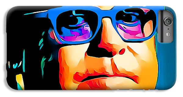 Elton John Blue Eyes Portrait IPhone 6 Plus Case by Yury Malkov