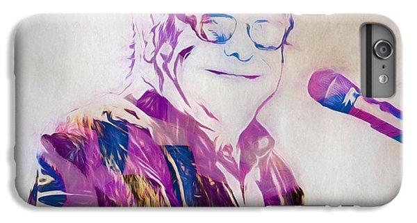 Elton John IPhone 6 Plus Case by Dan Sproul