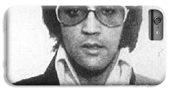 Elvis Presley Mug Shot Vertical IPhone 6 Plus Case by Tony Rubino