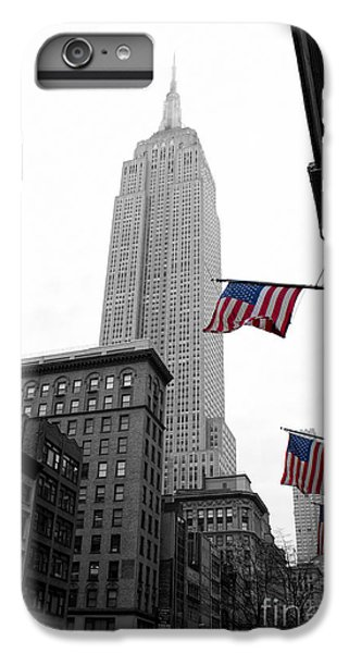 Empire State Building In The Mist IPhone 6 Plus Case by John Farnan