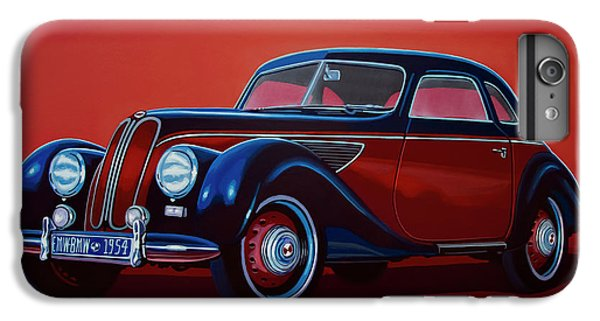 Emw Bmw 1951 Painting IPhone 6 Plus Case by Paul Meijering