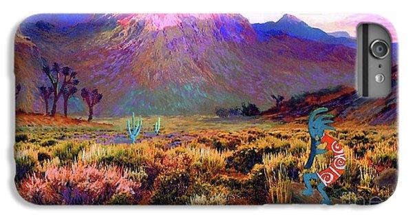Enchanted Kokopelli Dawn IPhone 6 Plus Case by Jane Small