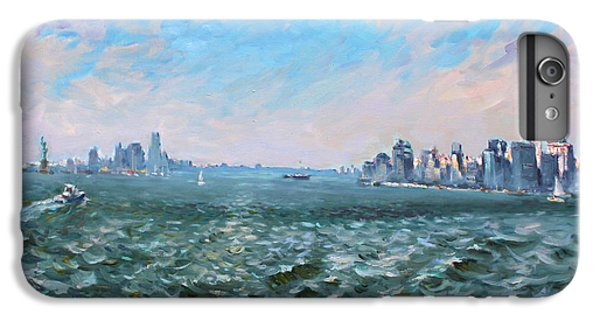 Entering In New York Harbor IPhone 6 Plus Case by Ylli Haruni