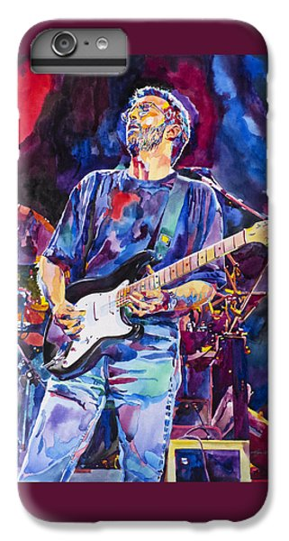 Eric Clapton And Blackie IPhone 6 Plus Case by David Lloyd Glover