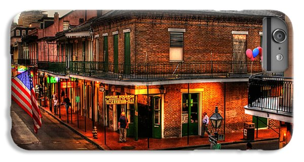 Evening On Bourbon IPhone 6 Plus Case by Greg and Chrystal Mimbs