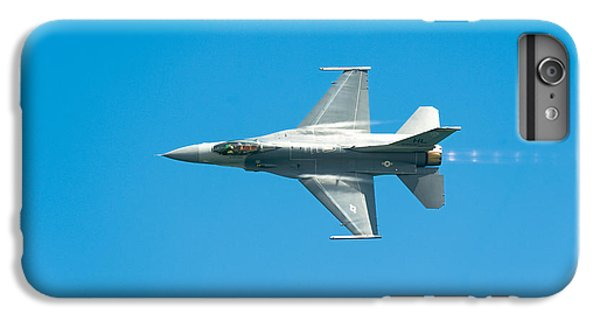 F-16 Full Speed IPhone 6 Plus Case by Sebastian Musial