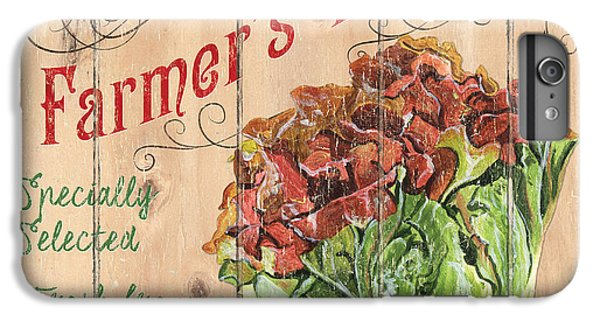 Farmer's Market Sign IPhone 6 Plus Case by Debbie DeWitt