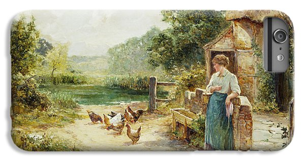 Feeding Time IPhone 6 Plus Case by Ernest Walbourn