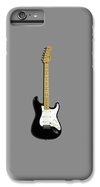 Fender Stratocaster Blackie 77 IPhone 6 Plus Case by Mark Rogan