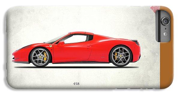 Ferrari 458 Italia IPhone 6 Plus Case by Mark Rogan