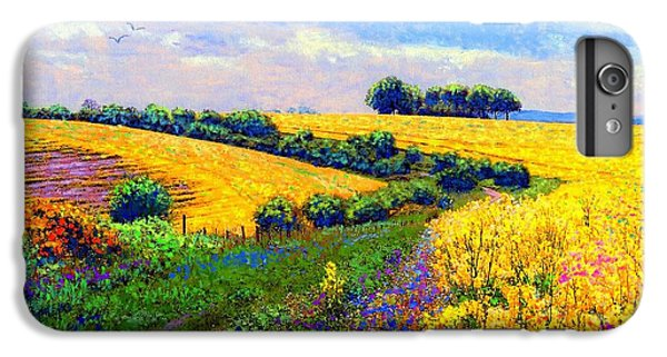 Fields Of Gold IPhone 6 Plus Case by Jane Small