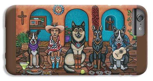 Fiesta Dogs IPhone 6 Plus Case by Victoria De Almeida