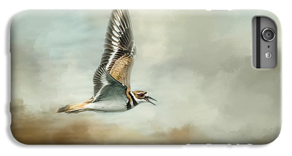 Flight Of The Killdeer IPhone 6 Plus Case by Jai Johnson