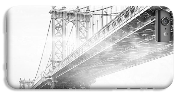 Fog Under The Manhattan Bw IPhone 6 Plus Case by Az Jackson