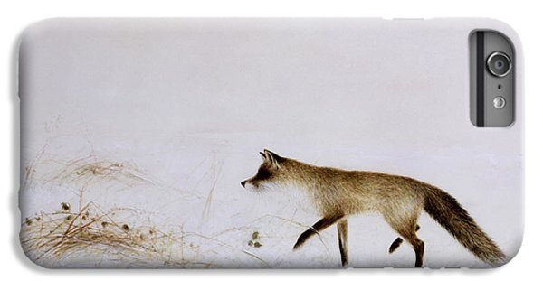Fox In Snow IPhone 6 Plus Case by Jane Neville