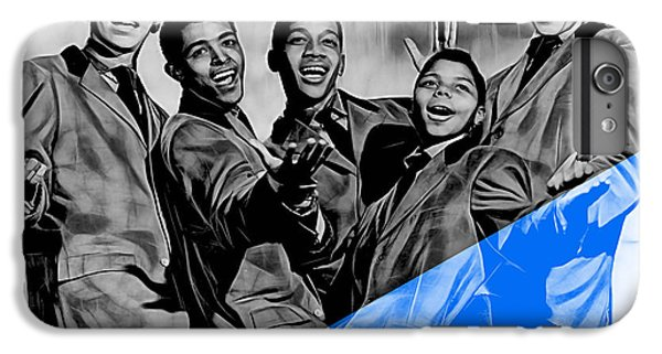 Frankie Lymon And The Teenagers IPhone 6 Plus Case by Marvin Blaine