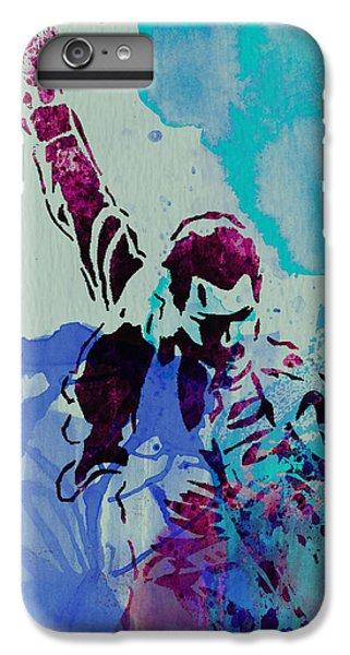 Freddie Mercury IPhone 6 Plus Case by Naxart Studio