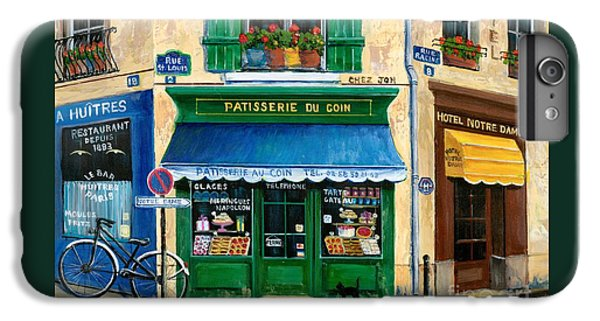 French Pastry Shop IPhone 6 Plus Case by Marilyn Dunlap