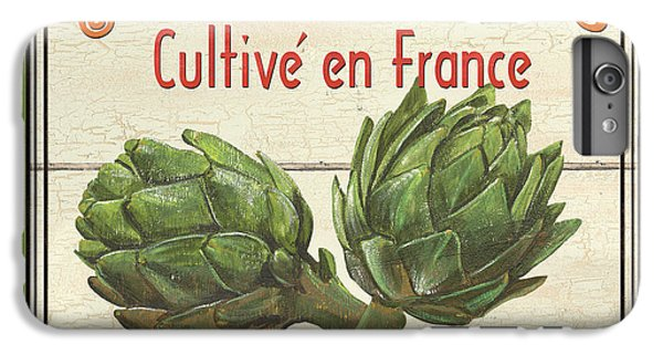 French Vegetable Sign 2 IPhone 6 Plus Case by Debbie DeWitt