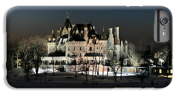 Frozen Boldt Castle IPhone 6 Plus Case by Lori Deiter