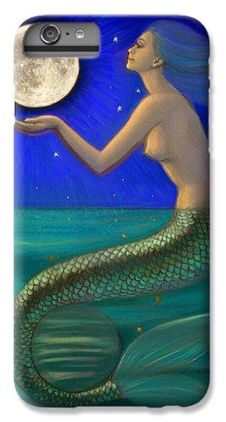 Full Moon Mermaid IPhone 6 Plus Case by Sue Halstenberg
