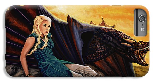 Game Of Thrones Painting IPhone 6 Plus Case by Paul Meijering