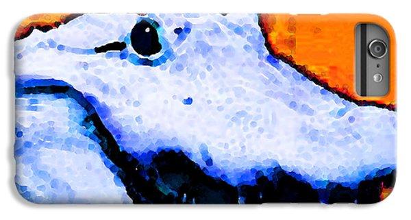Gator Art - Swampy IPhone 6 Plus Case by Sharon Cummings