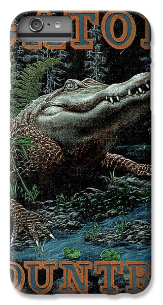 Gator Country IPhone 6 Plus Case by JQ Licensing