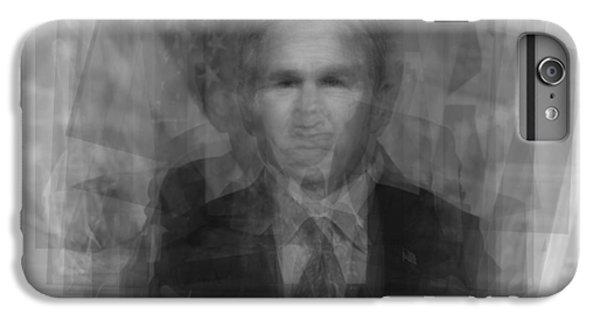 George W. Bush IPhone 6 Plus Case by Steve Socha
