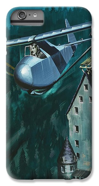 Glider Escape From Colditz Castle IPhone 6 Plus Case by Wilf Hardy