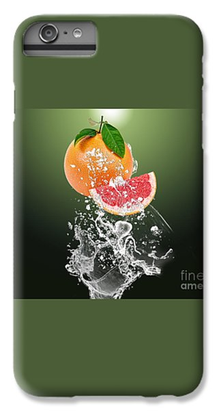 Grapefruit Splash IPhone 6 Plus Case by Marvin Blaine
