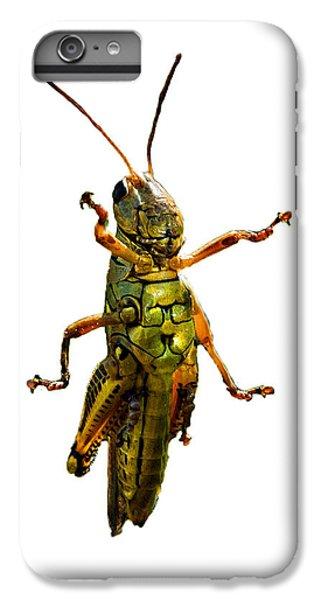 Grasshopper II IPhone 6 Plus Case by Gary Adkins