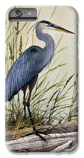 Great Blue Heron Splendor IPhone 6 Plus Case by James Williamson