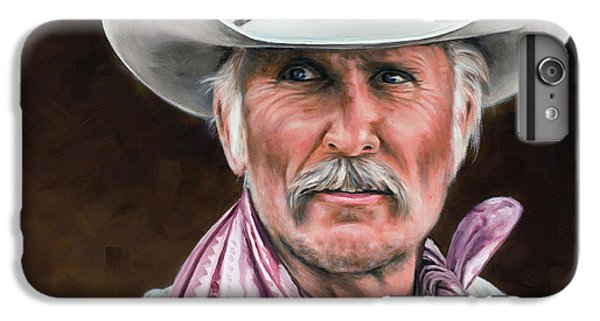 Gus Mccrae Texas Ranger IPhone 6 Plus Case by Rick McKinney