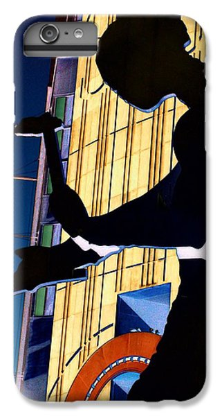 Hammering Man IPhone 6 Plus Case by Tim Allen