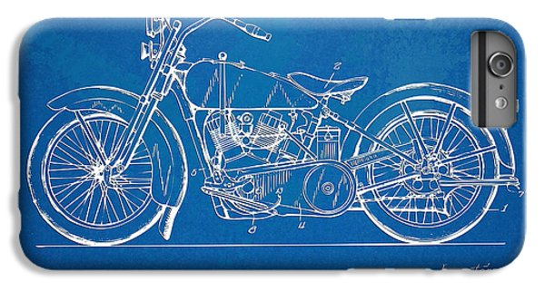 Harley-davidson Motorcycle 1928 Patent Artwork IPhone 6 Plus Case by Nikki Marie Smith