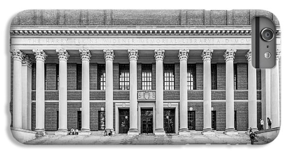Widener Library At Harvard University IPhone 6 Plus Case by University Icons