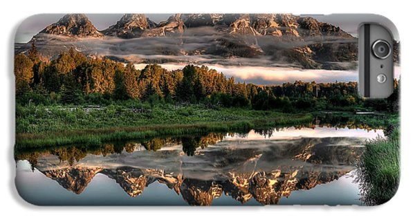 Hazy Reflections At Scwabacher Landing IPhone 6 Plus Case by Ryan Smith