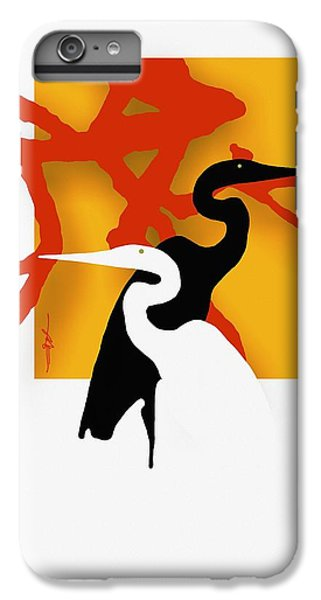 Herons  IPhone 6 Plus Case by Bob Salo