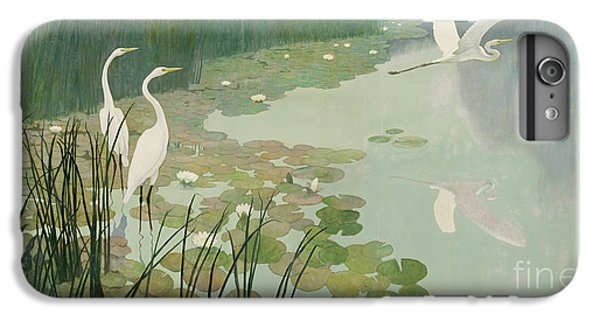 Herons In Summer IPhone 6 Plus Case by Newell Convers Wyeth