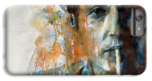 Hey Mr Tambourine Man @ Full Composition IPhone 6 Plus Case by Paul Lovering
