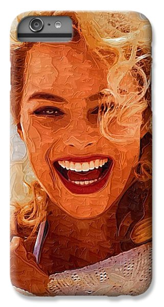 Hollywood Star Margot Robbie IPhone 6 Plus Case by Best Actors