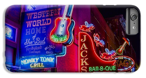 Honky Tonk Broadway IPhone 6 Plus Case by Stephen Stookey